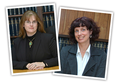 Lyndonville Attorneys Tiffany Young and Laura Wilson